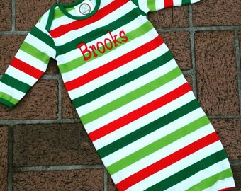 SALE - 2015 Monogrammed Christmas Gown
