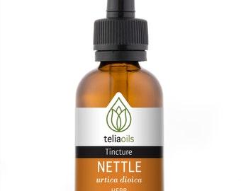 Organic Stinging nettle Tincture, Liquid Extract, (Urtica dioica) 1 fl. Oz / 30 Ml - Top Quality, maximum Strength