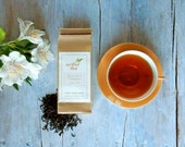 Earl Grey Français Black Tea • 4 oz. Kraft Bag • Luxury Loose Leaf Blend with French Oil of Bergamot