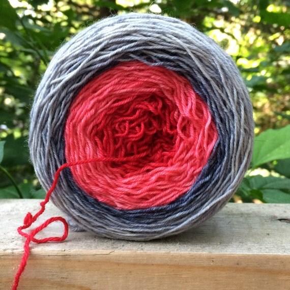 Gradient Yarn, SALE, Merino, Hand Dyed Sock Yarn, Hand Dyed, Merino, Cashmere