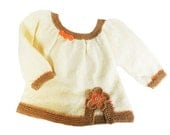 Knitted baby sweater, baby cardigan, woolen baby sweater, READY TO SHIP