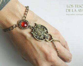 Wolf slave bracelet