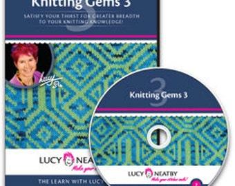 On SALE: 50% OFF! Lucy Neatby's Knitting Gems 3 DVD