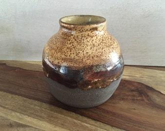 Pottery Bud Vase - Handmade Ceramic Vase - Bud Vase - Modern Rustic Vase - Handmade Pottery Vase - Earth Tones Decorative Vase