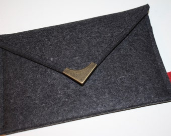 iPad mini, Kindle3, Kindle Touch, Kindle Fire Case Wool Felt Anthracite