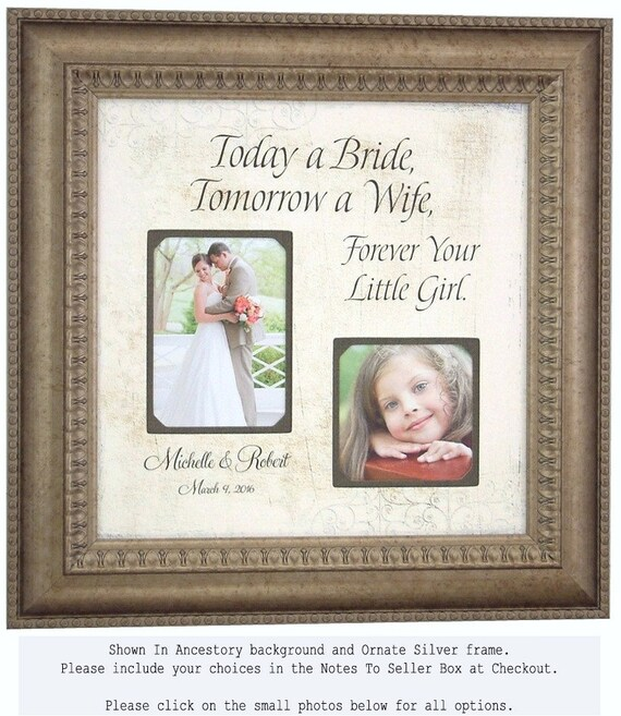 Wedding Frame, Decoration, Sign, Personalized Frame, Bridal Shower, Parents Wedding Party, Thank You Gift, 16 X 16