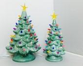 "Vintage Style Ceramic Christmas Tree | Free US Shipping | Christmas Tree | 13"""