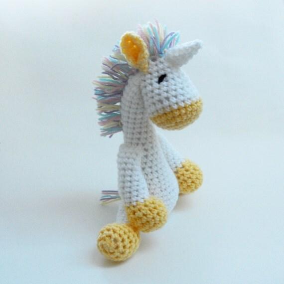 Crochet Unicorn Glitter