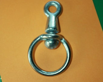 EYE Steel Rotatable Connector-Utility Hook-Hanging Crafts-Key hook-Rotatably Wall hanging crafts-Macrame Hooks -Plant Hooks-Birdhouse Hanger