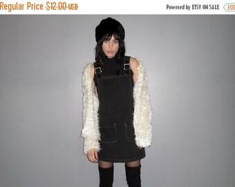 HOLIDAYSALE White Fuzzy Shag Cardigan - 90s Mod Grunge Soft Cozy VTG - Size M/L