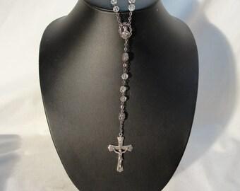 Vintage Partial Rosary Sterling Sliver
