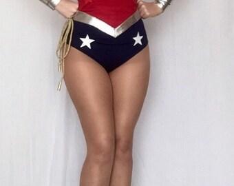 New 52 Wonder Woman Costume  Replica Custom Made Sizes XS-M
