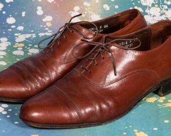 Brown FLORSHEIM Captoe Men's Size 10 .5 D
