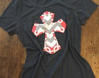 Gray Shirt with Cross by Two Girls Who Make Crosses