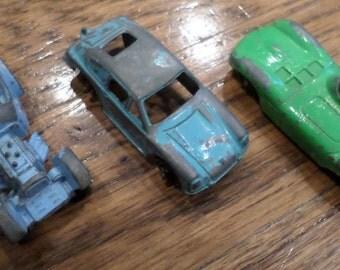 VTG TOOTSIE TOY 3 metal cars lot