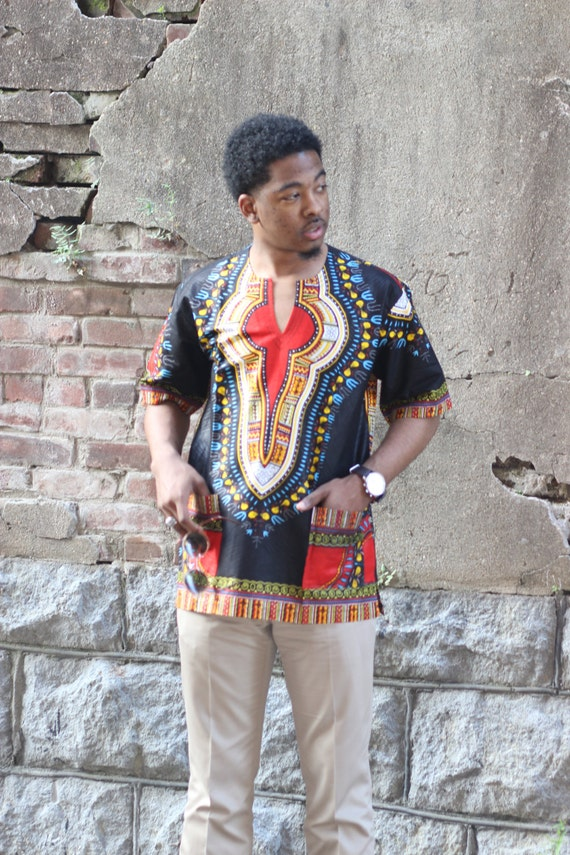 african clothing black dashiki for mens african dashiki