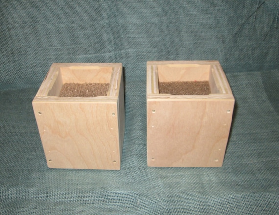 Items Similar To Furniture Risers 4 Inch All Wood Construction Unfinished Square Design