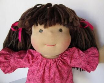 Custom Waldorf Doll DEPOSIT, 10 inch doll, made to order JANUARY 2017