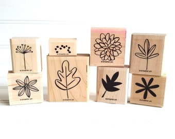 Stampin' Up Fall Flair, Retired Hostess Set, Fall Flowers and Leaves Stamps