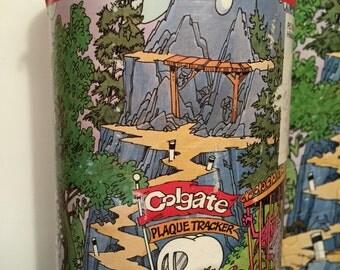Vintage Colgate Mystery Mountain 100 Piece Puzzle
