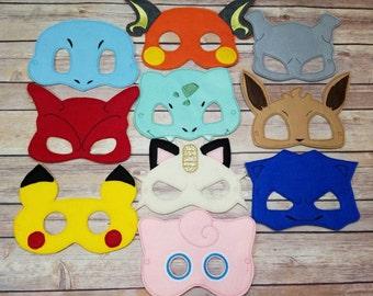 Poke Mask set Pretend Play Dress Up