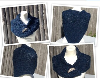 Claire's Shaulette Cape Outlander Inspired Sassenach Handmade My Version Ready To Ship