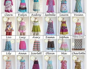 Livi Stitches Patterns- Bundle and Save on Childrens Clothing Sewing Patterns