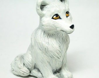 Wolf Figurine, White