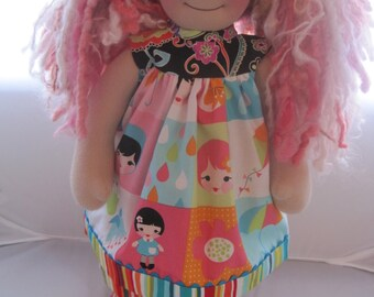 "Waldorf doll clothes for 18-20"", Whatever the Weather, 2 pc"