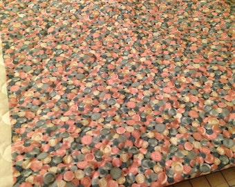 Quilted button fabric