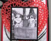 Custom Order for daneshu - I Love Lucy Handmade Card - Grape Stomp