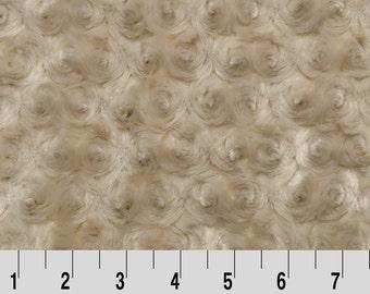 Rose Cuddle - Latte - by the half yard - Yard or Fat Half Cut - from Shannon Fabrics