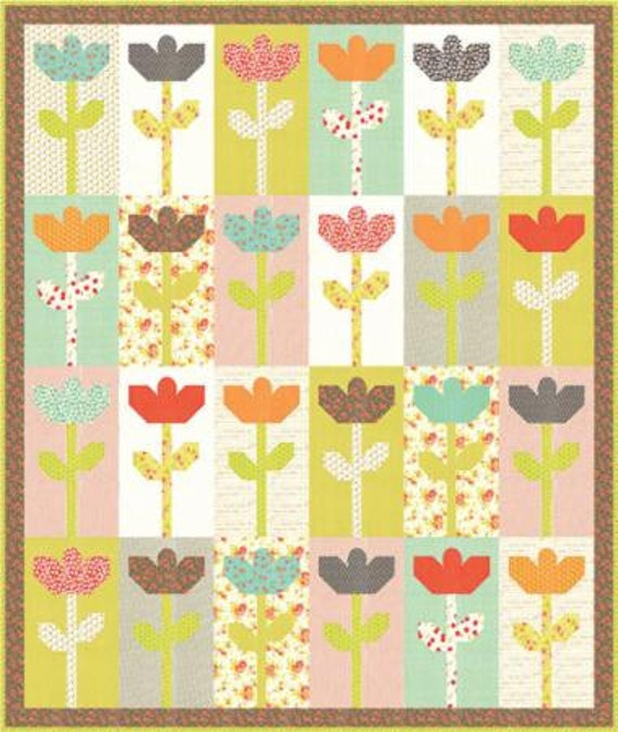 Stems Quilt Pattern Fig Tree : Daisies Quilt Pattern by Fig Tree & Co. FTQ 1020 Fat Quarter