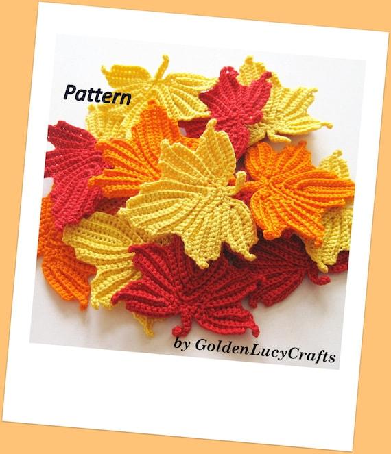 Maple Leaves Crochet Pattern