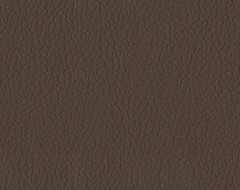 Quality Leather Look Upholstery Fabric -Faux Leather for upholstery- Home and Automobile  -Color: Mocha  -Simulated Leather- per yard