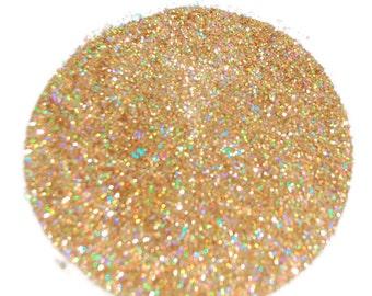 Gold Holographic Glitter Nail Polish Nail Art Holographic Solvent Resistant Glitter The Glitter Source Nail Glitter 0.015 Hex