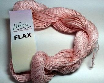 Fibranatura Flax Yarn Color #26 Pale Blush Lot # 3067