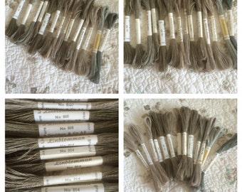Vintage Linblomman linen thread