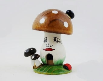 Vintage Toadstool Smoker Incense Burner