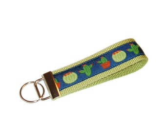 Cactus Key Fob - Gift for Snowbird - Gift Under 10 -Southwest