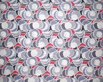 "1940's Silk Yardage // Vintage Fabric...34"" wide X 4 1/3 yards"