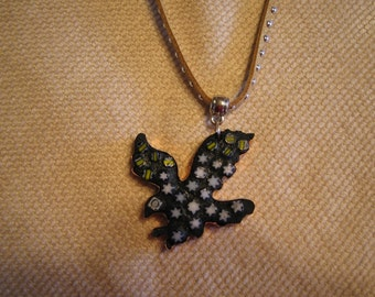 Fly Like an Eagle - Mosaic Styled Necklace