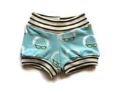 BERNIE SANDERS BABY Shorts - organic baby bloomers