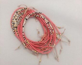 "Semaphore morsecode bracelet ""Kærlighed"" (Love)"