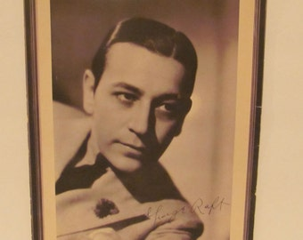 "Portrait of George Raft, Star of Paramount's ""LImehouse Nights"""