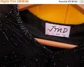 on sale JMD New York Black Beaded Holiday Sparkle Jacket