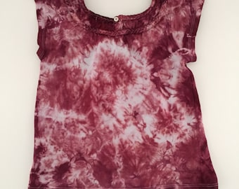 Tie Dye Girls Shirt- 5T