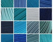 "18 Packs (Shades of Blue) 900 Strips. Culture Pop Premium Solid Color Quilling Paper Strips. 17"" Long. 1/8 1/4 1/2 inches 3 6 mm"