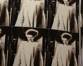 Bride of Frankenstein Wrapping Paper