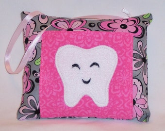 Flower Tooth Fairy Pillow